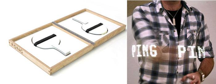 Ping Pong Paddles, Troika Studio, Designer Ping Pong Paddles, Table Tennis