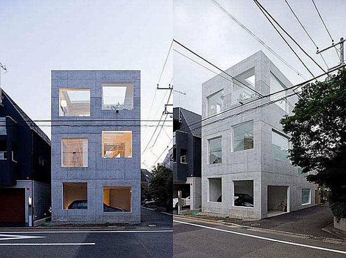 Sou Fujimoto, Minimal Home Design, Tiny Home, Tokyo, Cube House