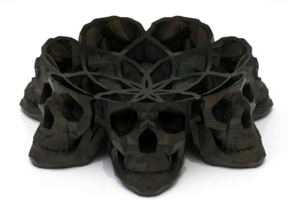 Laurent Massaloux, Skull Bowl, Radi Designers, Paris