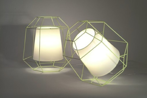 Laurent Massaloux, Wire Lamp,  Cage lamp, Radi Designers, Paris