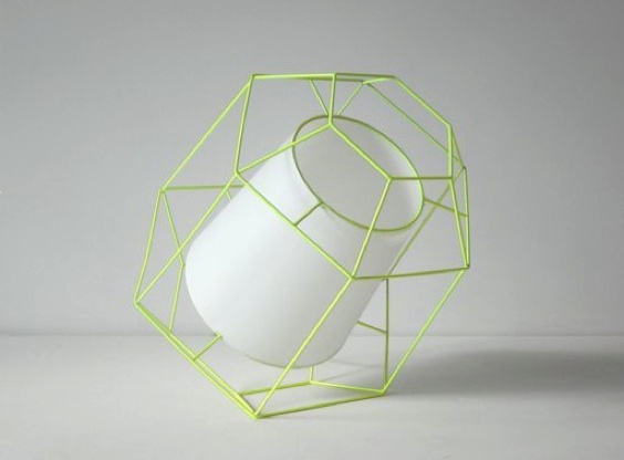 Laurent Massaloux, Wire Lamp, Radi Designers, Paris