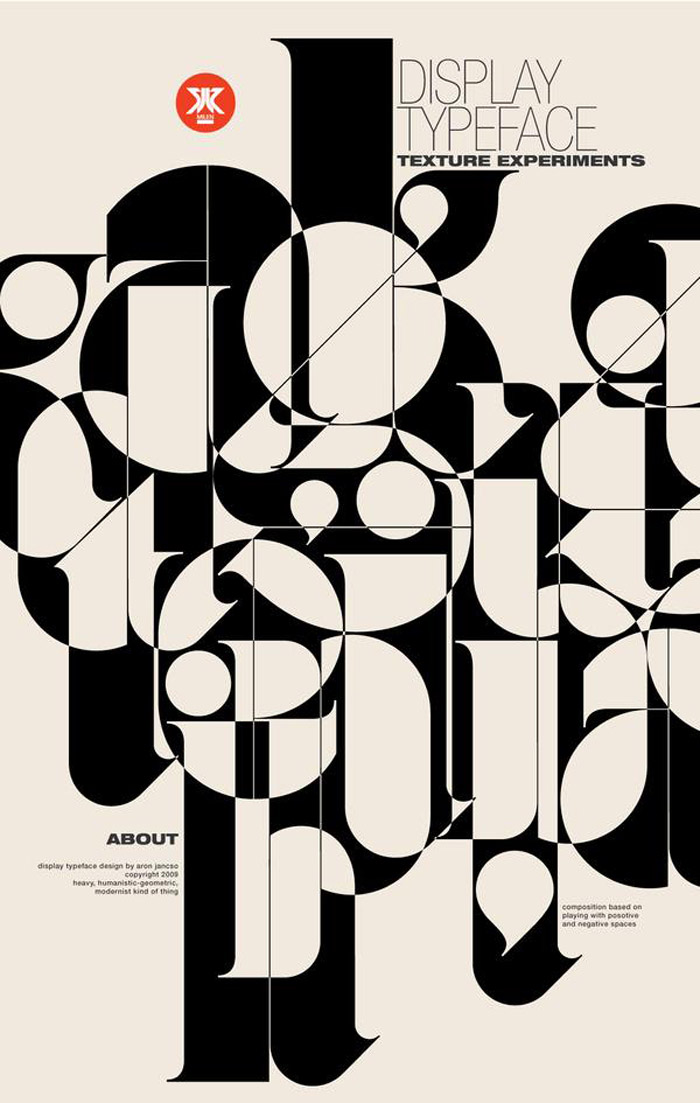 typography, typography poster, Aron Jancso