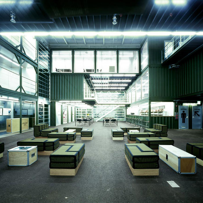 Shipping Container Building, Shipping Container Bar, Platoon Kunsthalle, Seoul,