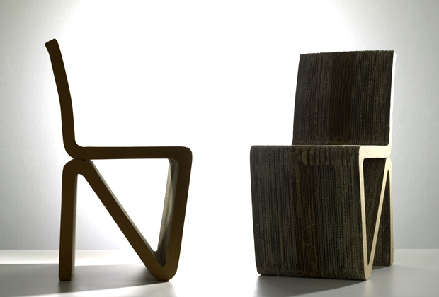 Cardboard Furniture, Henry Pilcher, Chair