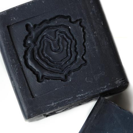 Coal Soap, Cube Soap, Blackbird Soap