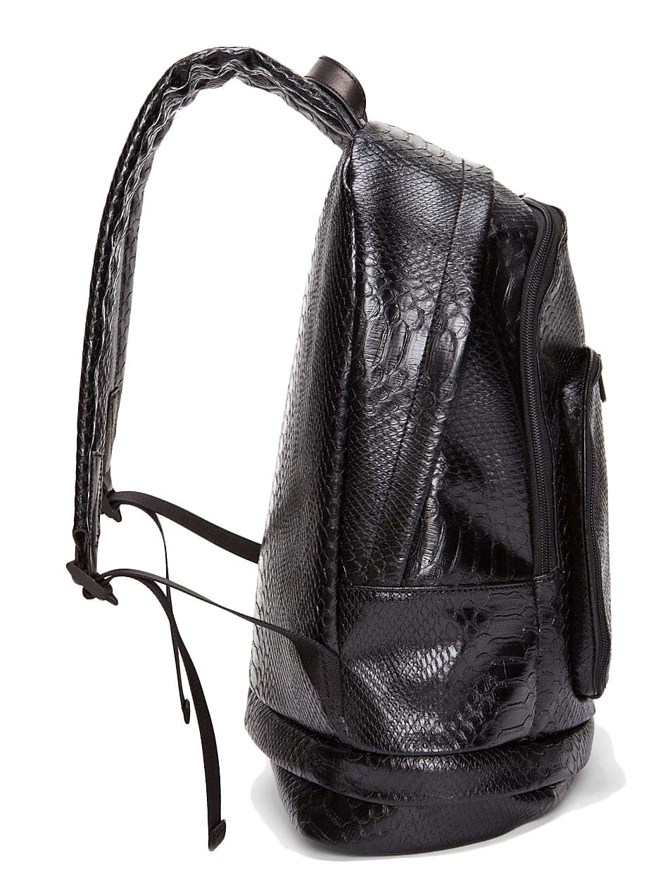 Python Backpack, Snakeskin Backpack, leather backpack, marc jacobs