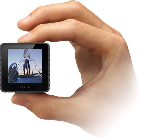 Lytro Camera, Handheld, light field
