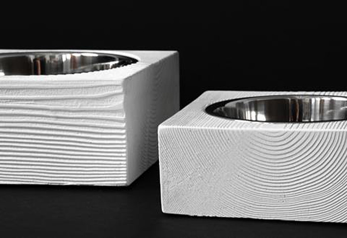 doca pet, food bowls, designer pet food bowls, minimal design