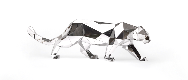 Arran Gregory Mirror Animal Sculptures