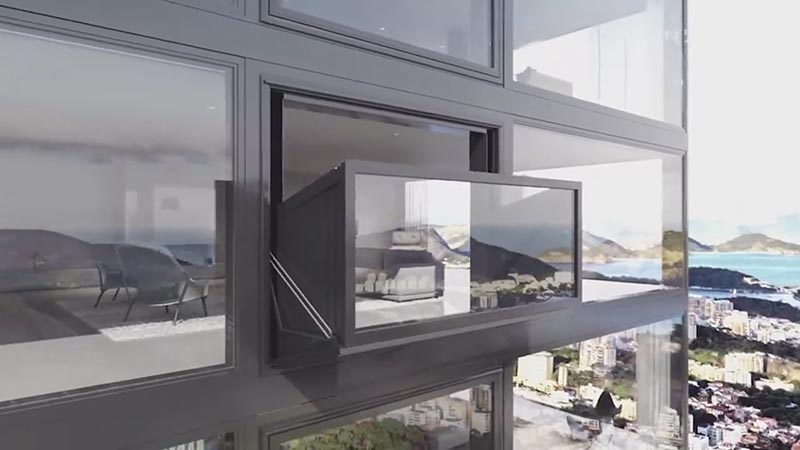 The window that becomes a balcony daaannng for Architecture firm amsterdam