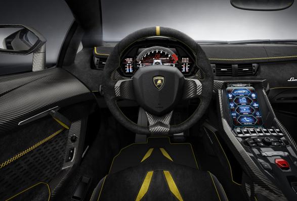 Lamborghini, Centenario, LP 770-4, interior