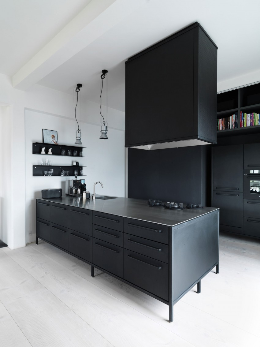 Home of Morten Bo Jensen, Vipp, Interior Design, Scandinavian interiors, kitchen