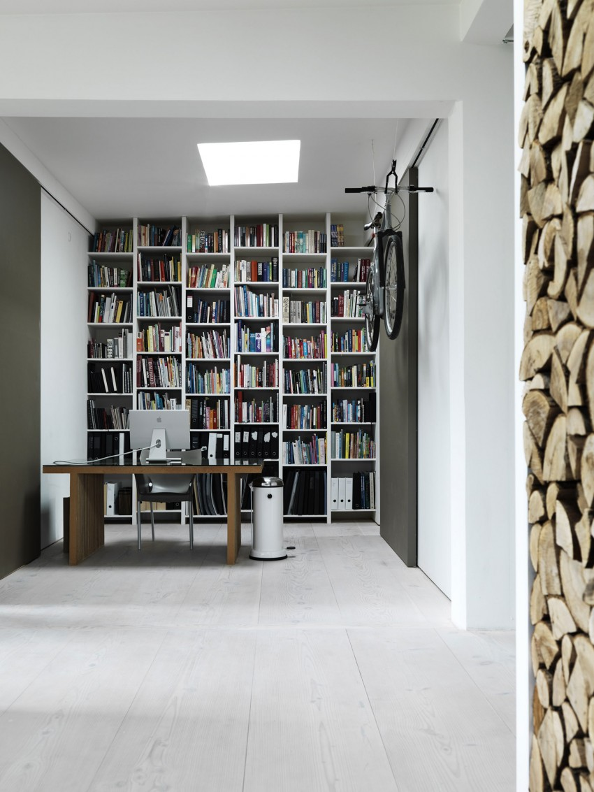 Home of Morten Bo Jensen, Vipp, Interior Design, Scandinavian interiors, study