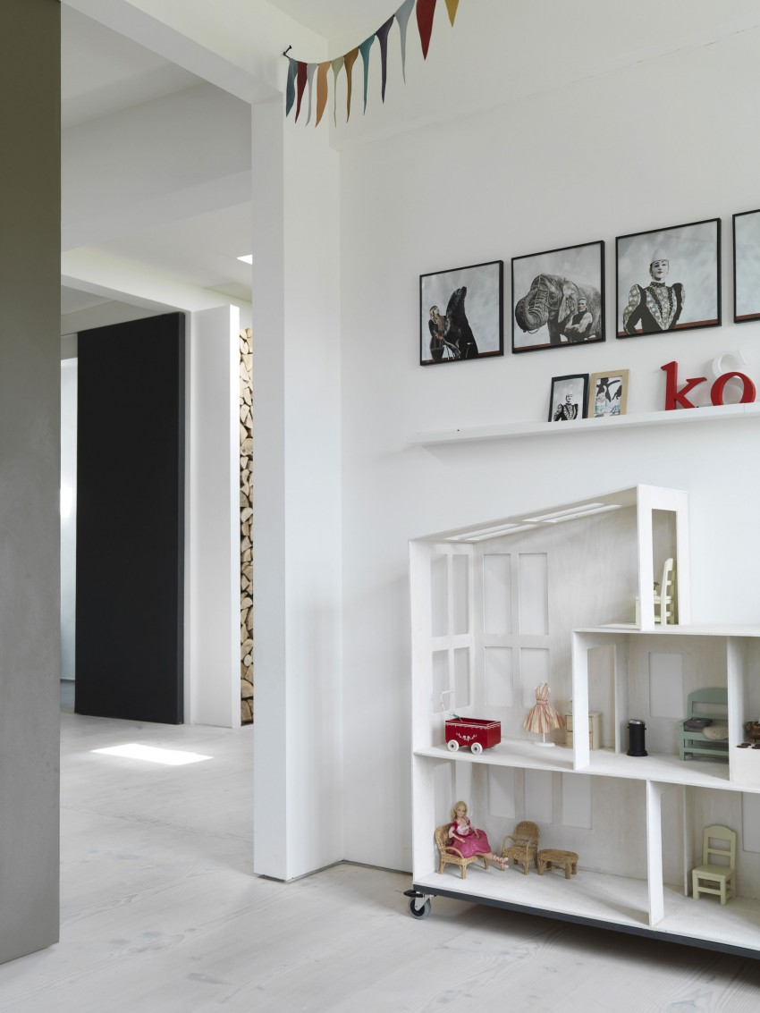 Home of Morten Bo Jensen, Vipp, Interior Design, Scandinavian interiors, kids room