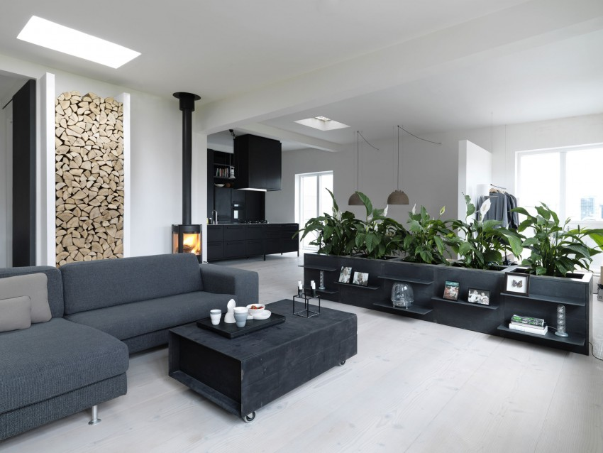 Home of Morten Bo Jensen, Vipp, Interior Design, Scandinavian interiors, living room