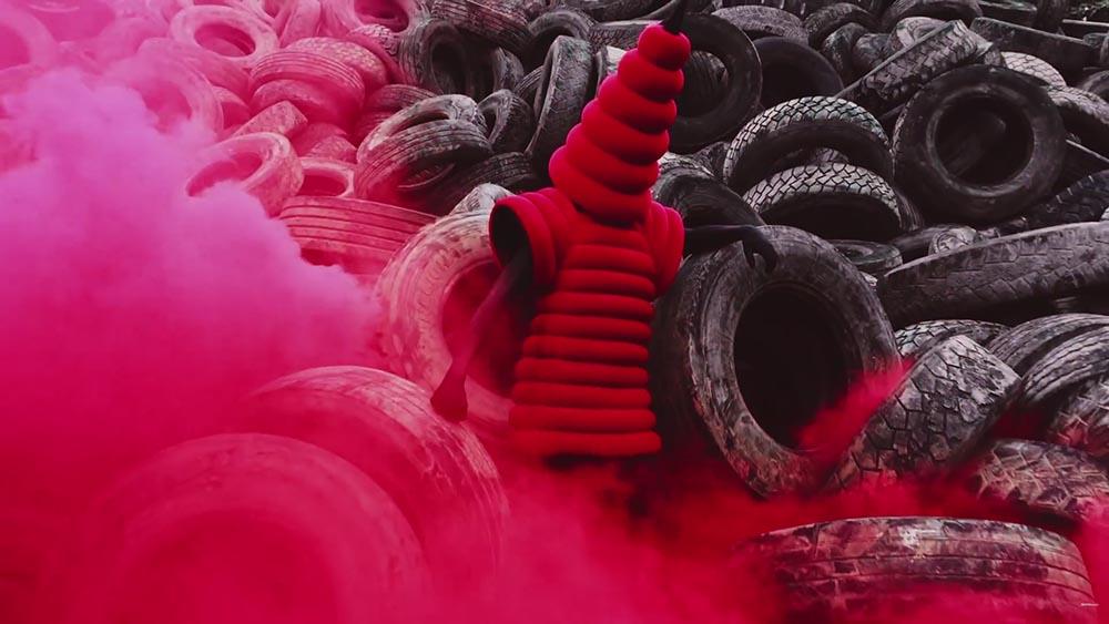 Gareth Pugh, Ruth Hogben, SHOWSTUDIO, A beautiful darkness, fashion film