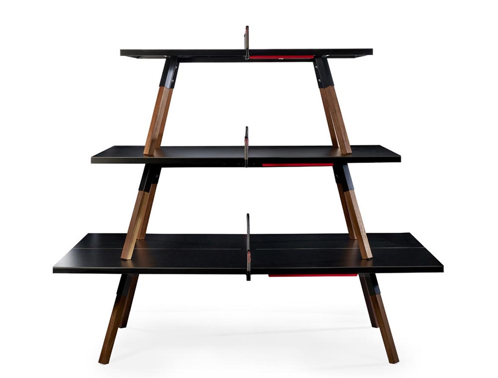 black Ping Pong Table, DPAGES, Furniture Design
