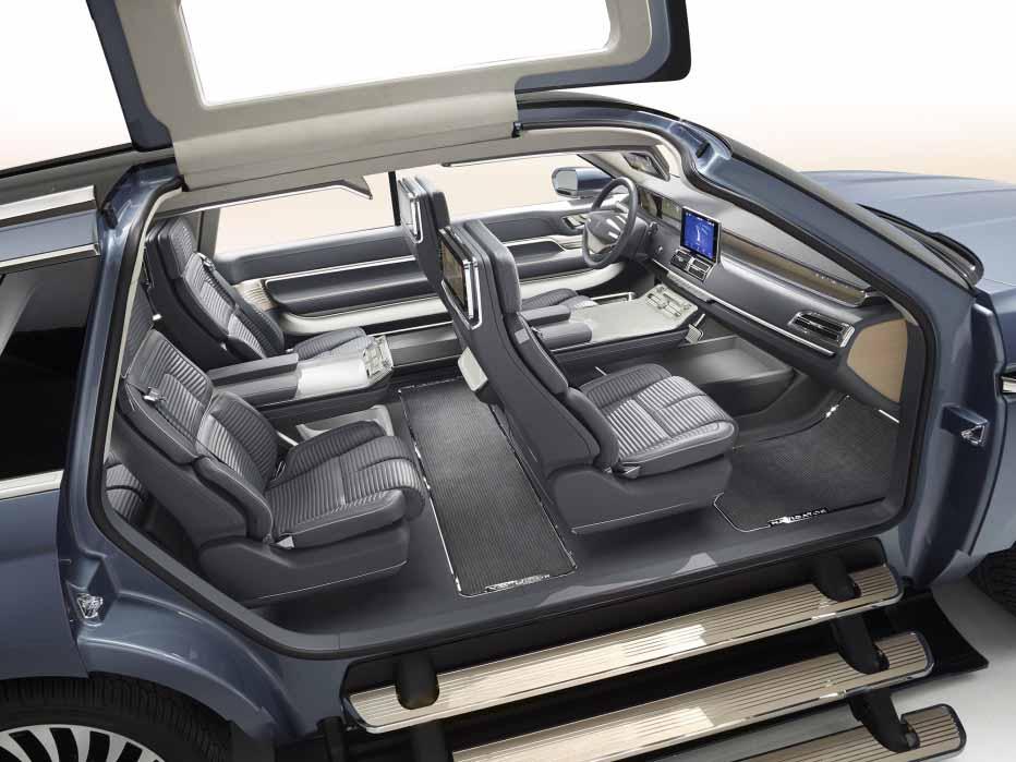 Lincoln Navigator Concept, interior