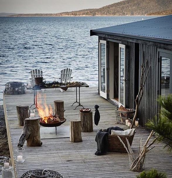 Satellite Island, Tasmania, private island