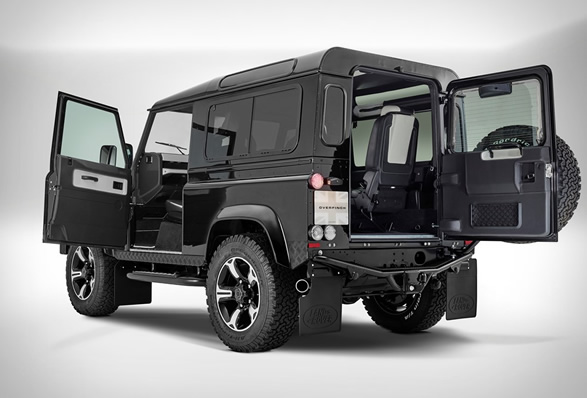 Overfinch Defender, 40th Anniversary Edition, custom landrover, custom defender, aftermarket
