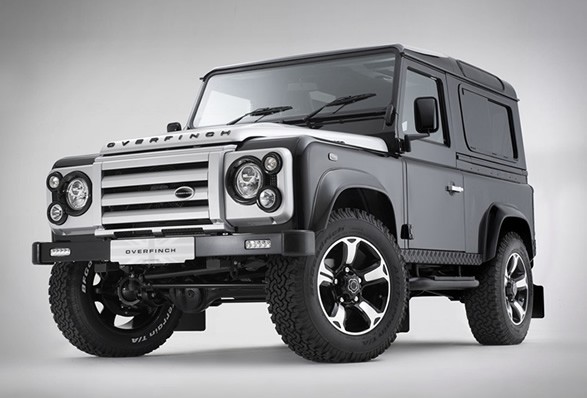 Overfinch Defender, 40th Anniversary Edition, custom landrover, custom defender