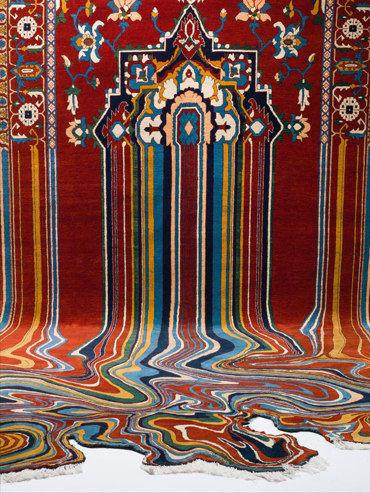 Faig, Ahmed, Carpet Art, dripping carpet