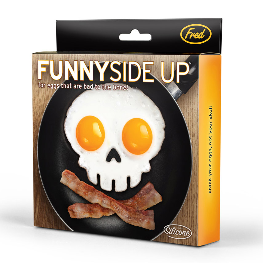 Skull Egg Mold, Skull Egg Shaper, Skull Eggs, Funny Side Up
