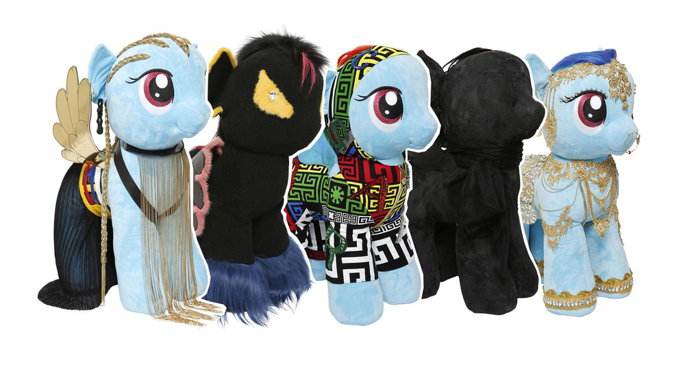 Designer My Little Ponies, Luisaviaroma, My Little Pony