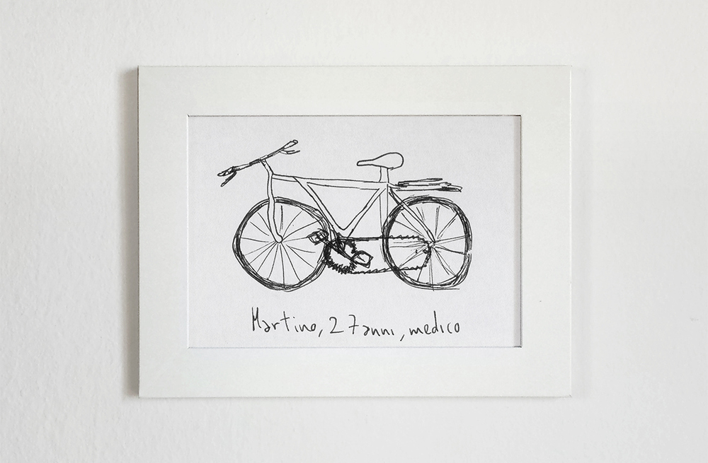 Gianluca Gimini, Velocipedia, Draw Bikes from Memory