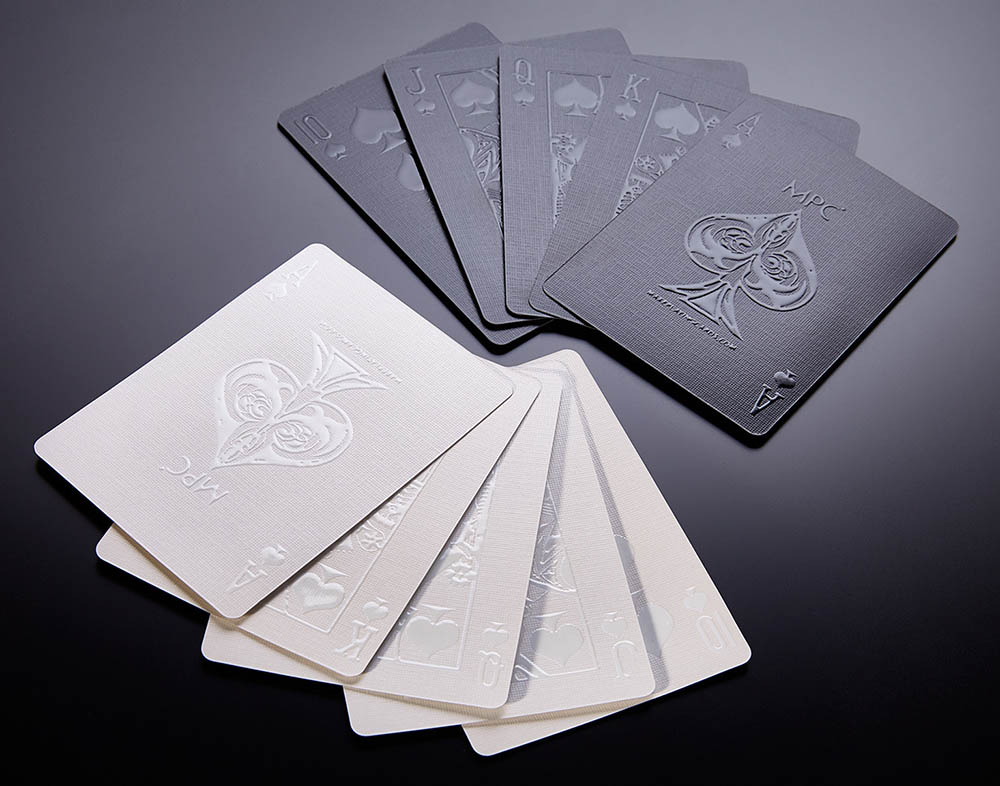 Black and White Playing Cards, MPC Impressions, Custom Cards