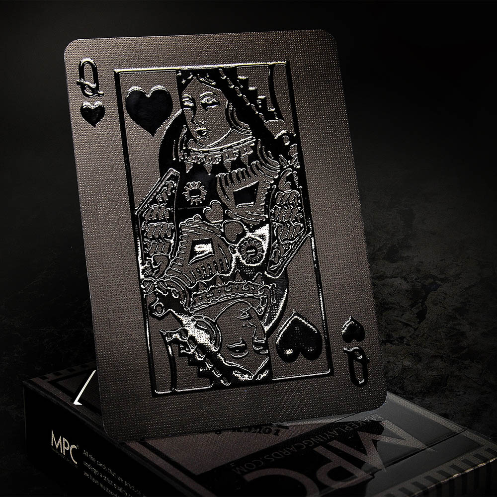 Black Playing Cards, MPC Impressions, Custom Cards
