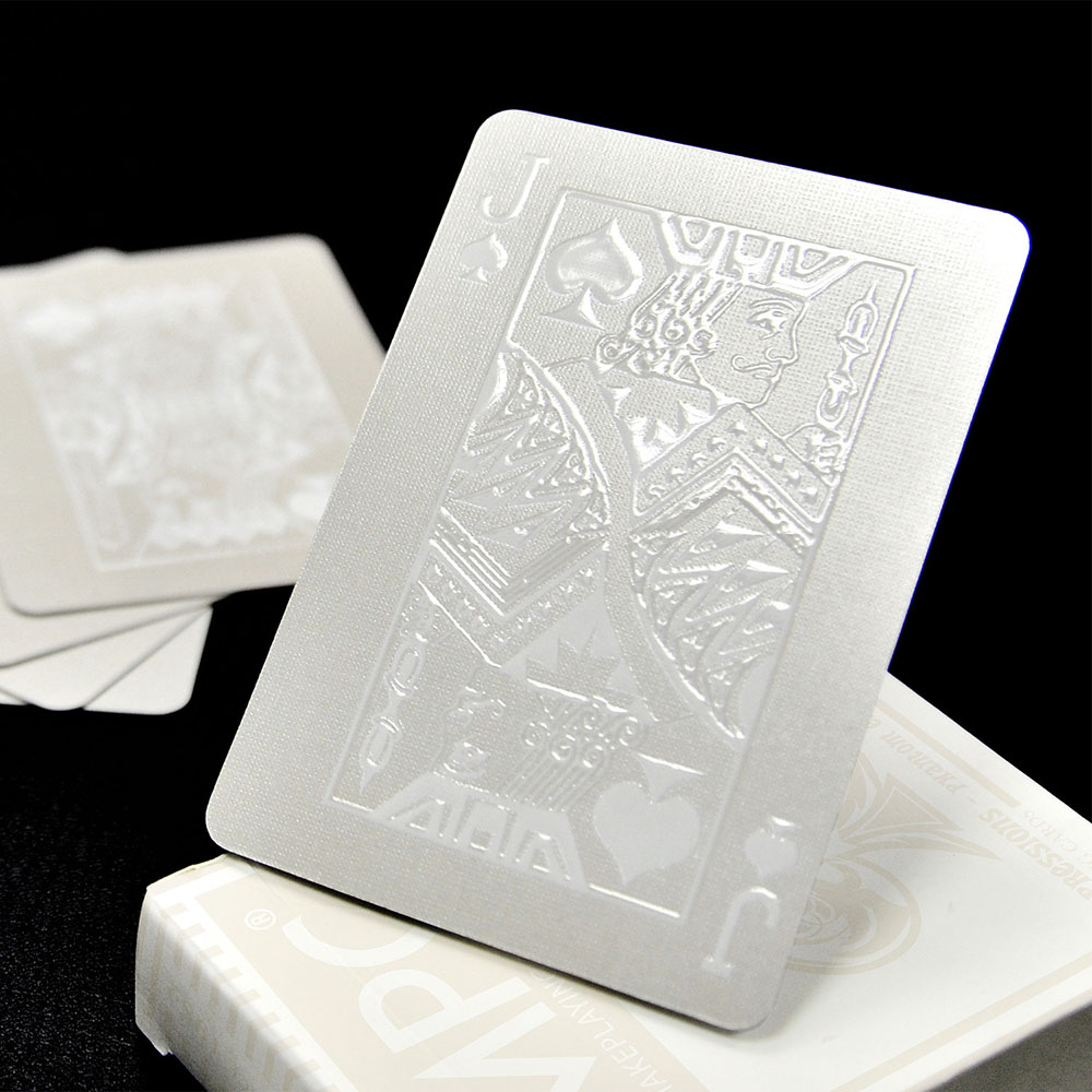White Playing Cards, MPC Impressions, Custom Cards