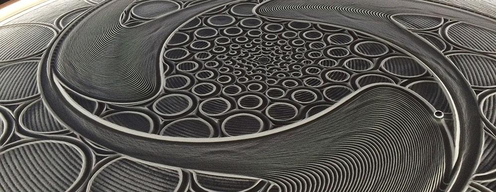 Bruce Shapiro, Sisyphus, Sand Art