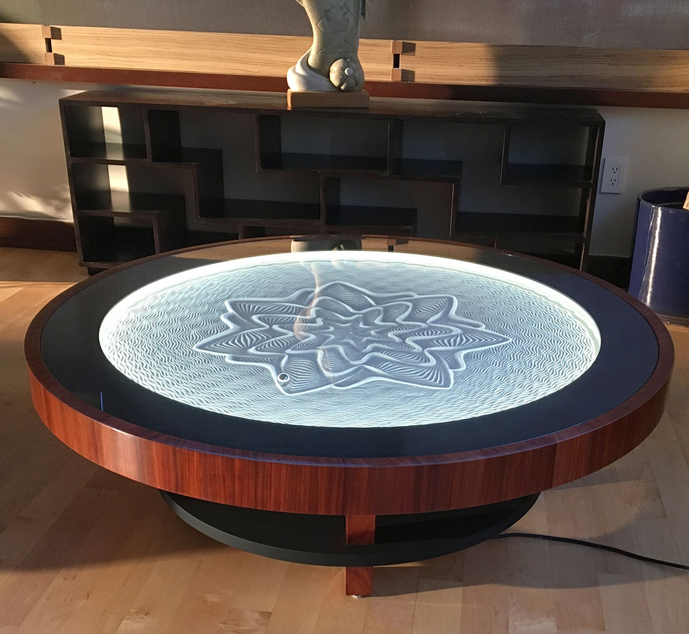 Bruce Shapiro, Sisyphus, Sand Art, Tables
