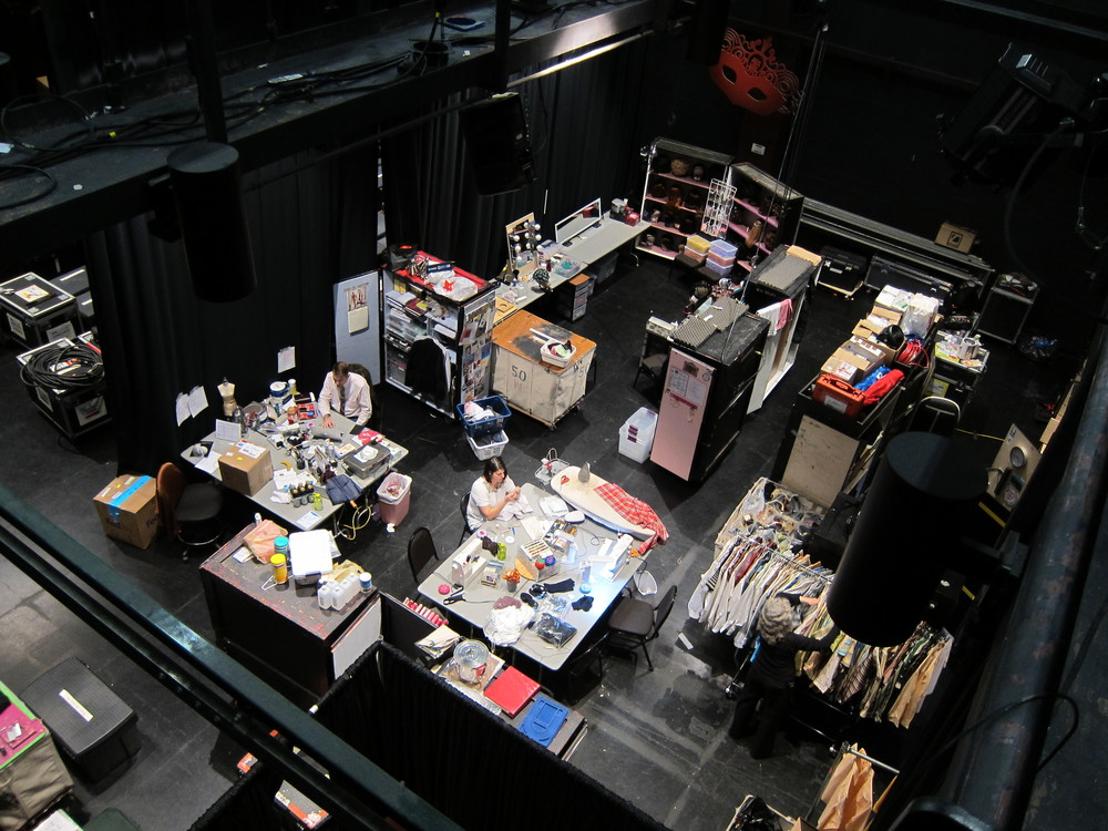 Starr Theater during a large production prior to the renovation.