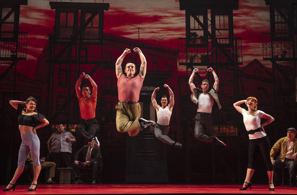 f Belmont Avenue - dance jump.JPG