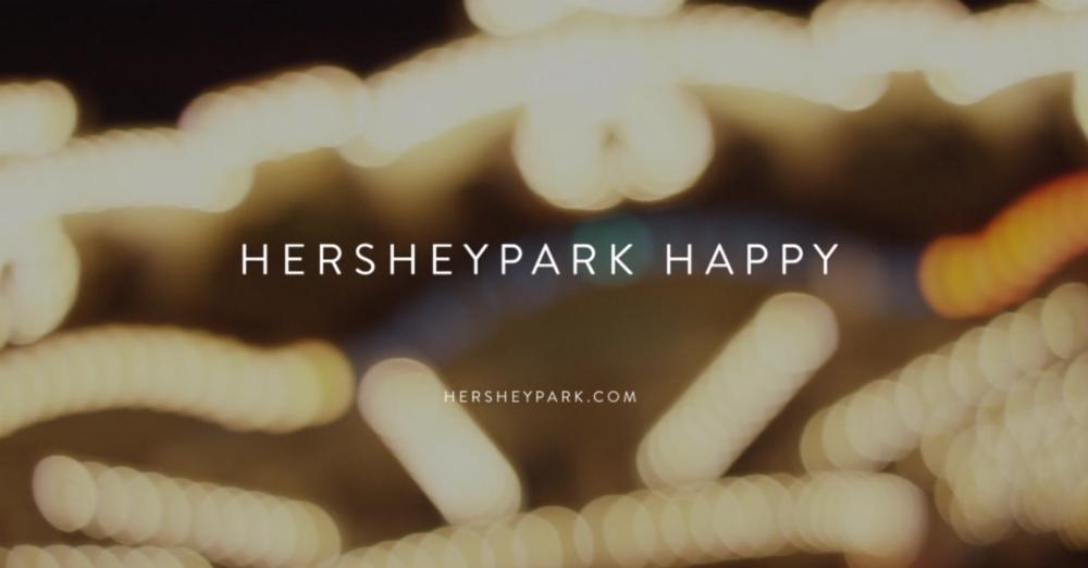 Hershey Park - Happy