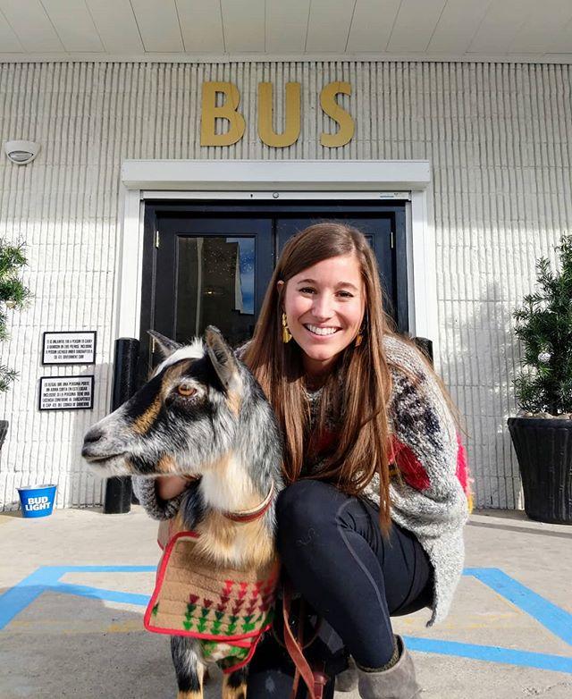 Have goat, will travel. #lupelovesatx
