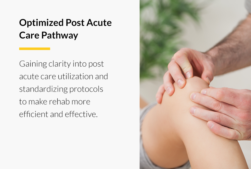 Optimized Post Acute Care Pathway