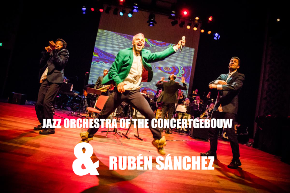 PERFORMING WITH THE JAZZ ORCHESTRA OF THE CONCERGEBOUW - VIDEO EDIT MADE OF THE TWO REGISTRATION OF 11th, Podium Mozaïek Amsterdam & 12th of january 2019, Paradiso Noord Amsterdam