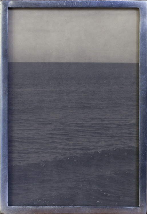 Atlantic                 Pigment print, custom welded aluminum frame
