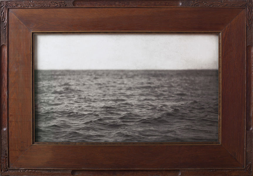 The Sound                  Pigment print, antique oak frame