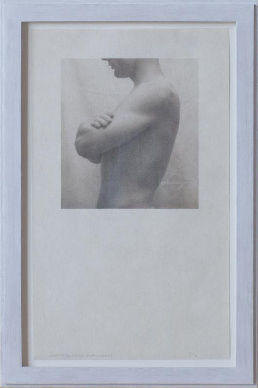 Hallway        Pigment print on Niyodo Kozo paper, artist made frame