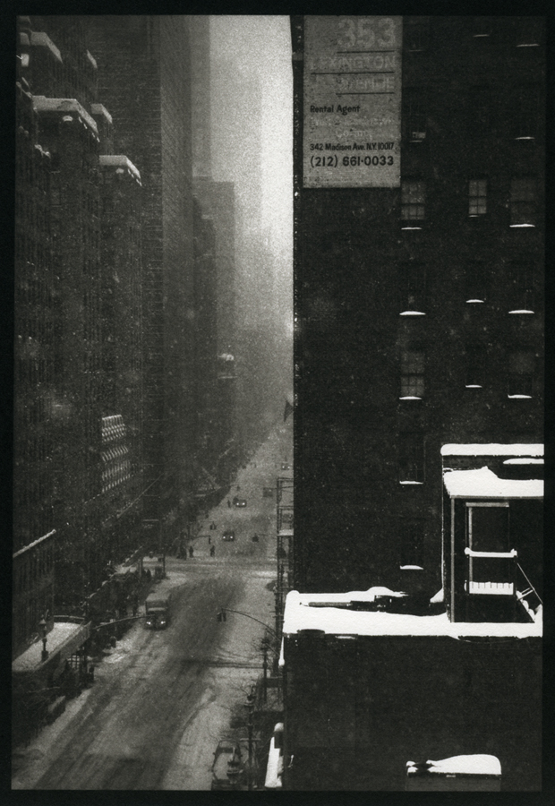 Lexington Avenue             Platinum print