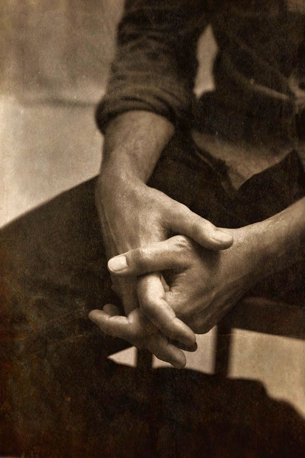 Hands of the Artist Brad Kunkle