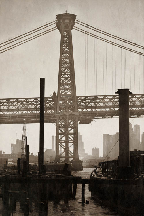 Williamsburg Bridge         Pigment print