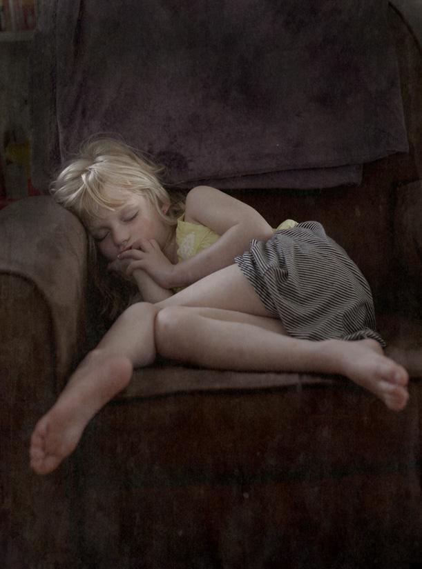 Asleep        pigment print