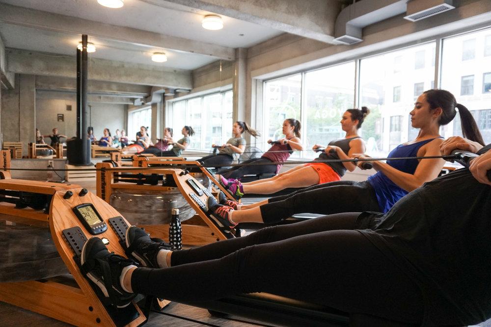 indoor rowing classes