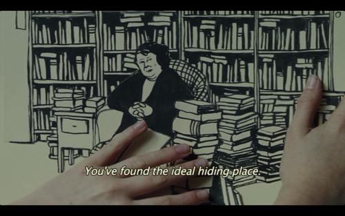 - Sonunda ideal saklama yerini buldun.