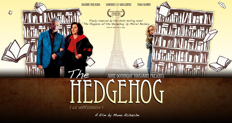 Filmdeki halleriyle kitabın 4 kahramanı: Renée Michel ( Josiane Balasko ), Paloma Josse ( Garance Le Guillermic ), Kakuro Ozu ( Togo Igawa ) ve Paris (  Kendisi )